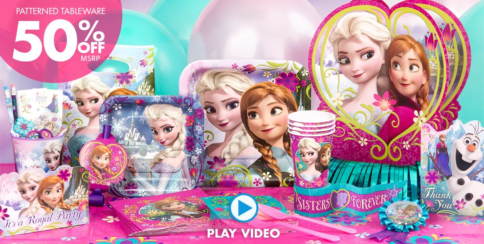 How Is Frozen Party Supplies Best Party City Coupons